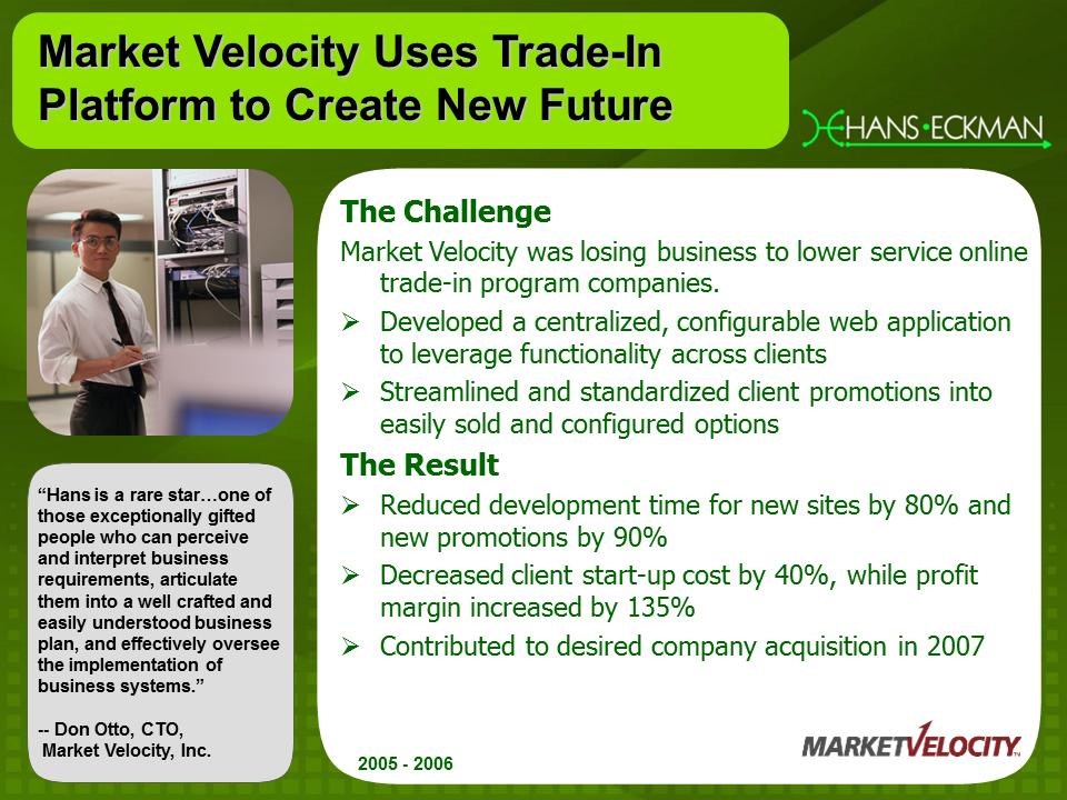 Market Velocity